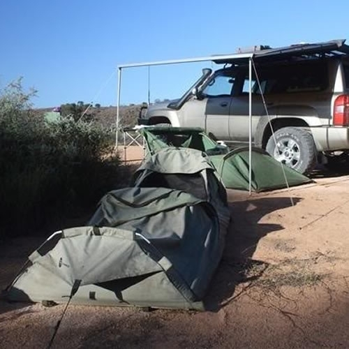Tents, Swags & Shelters