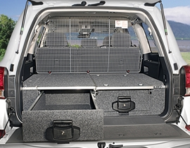 4wd Rear Drawer Systems & Fridge Slides
