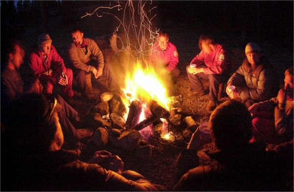 The Perfect Camp Fire - How To Safely Setup A Campfire