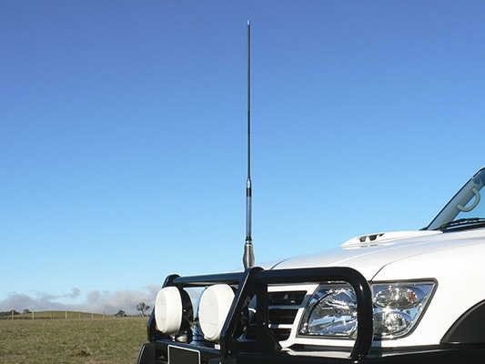 Communicating In The Bush - UHF & CB Radio
