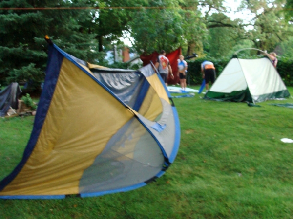 Repair Awnings & Camping Equipment If They Break Out In The Bush