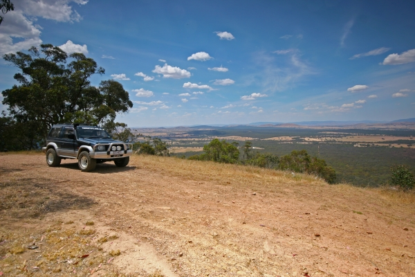 Ararat One Tree Hill Lookout 4wd Track