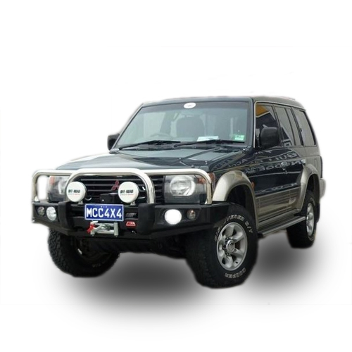 Stainless Falcon Bar Suitable For Mitsubishi Pajero