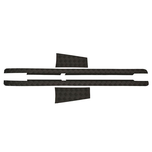 Sill Protector Black Suitable for Land Rover Defender 110 & 90 1983-2016