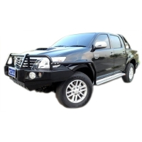 Steel Side Step & Rail Suitable For Toyota Hilux