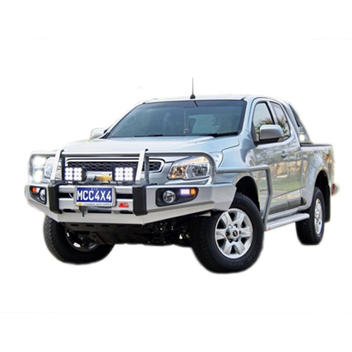 Steel Side Step with optional Rail Suitable for Holden Colorado