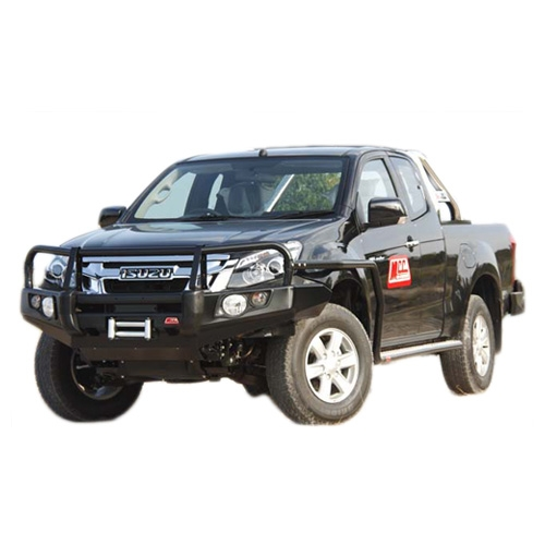 Steel Side Step with optional Rail Suitable for Isuzu D-Max