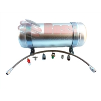 Aluminium Air Tank 3 Gallon 9ltr 5 Port