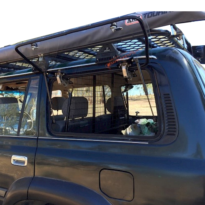 Gull Wing Window Suitable for Toyota Land Cruiser 80 Series