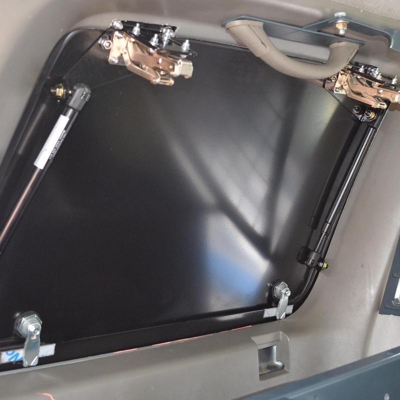 Car Window Guards >> Toyota 80 Series Land Cruiser Gull Wing Window