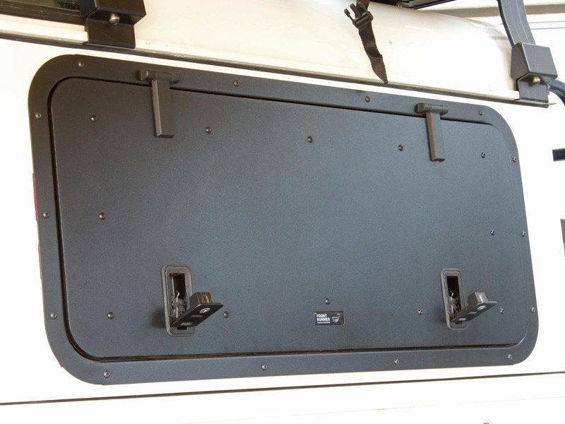 Land Rover Defender Gullwing Window