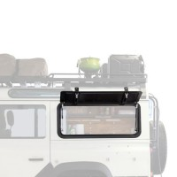 Gullwing Window - Aluminium Suitable for Land Rover Defender