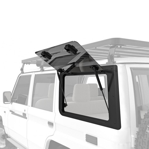 SLIMLINE II ROOF RACK KIT TALL SUITABLE FOR FORD F250 SUPER DUTY CREW CAB