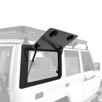Gullwing Window - Aluminium Suitable for Toyota Landcruiser 70 Series