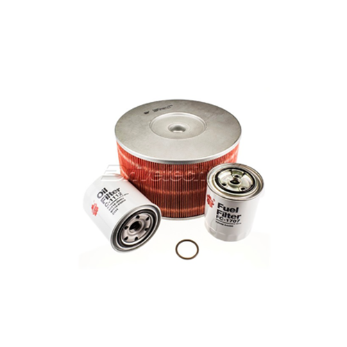 Filter Service Kit Suitable for Toyota Landcruiser 100 series 4.2L Turbo Diesel IFS & Live Axle Front 98-07