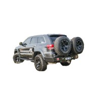 Uneek Rear Tyre Carrier Suitable for WK2 Grand Cherokee