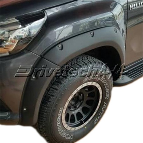 6inch Offroad Design Flare Kit Bolt-On Look Suitable for Toyota Hilux Revo / Hilux N80 2015-on