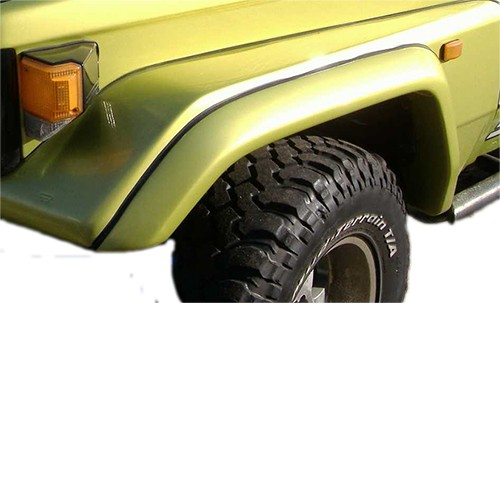Front Flares Suitable for Toyota 75 / 78 / 79 series Landcruiser