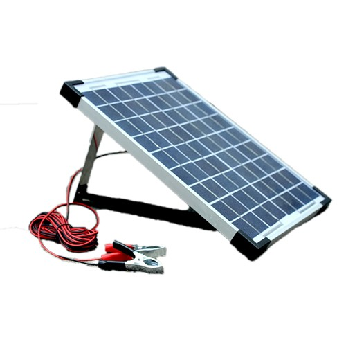 10w Trickle Feed Solar Panel Kit