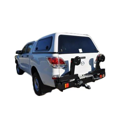 Twin Wheel Carrier Rear Bar Suitable for Mazda BT50