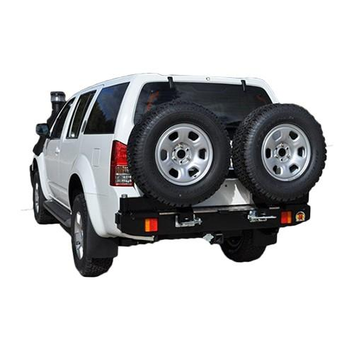 Twin Wheel Carrier Rear Bar Suitable for Nissan Pathfinder