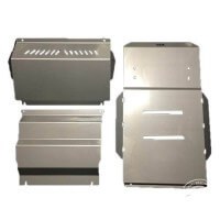 Front, Diff/Sump and Transmission Bash Plates Suitable for Mitsubishi Pajero NM to NX