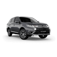Slimline II Roof Rack Suitable for Mitsubishi Outlander 2015+