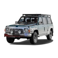 Slimline II Roof Rack - Tall Suitable for Nissan GQ Patrol Y60
