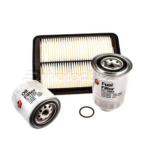 Filter Service Kit Suitable for Nissan Navara D40 2.5L Turbo Diesel Thailand 06-on
