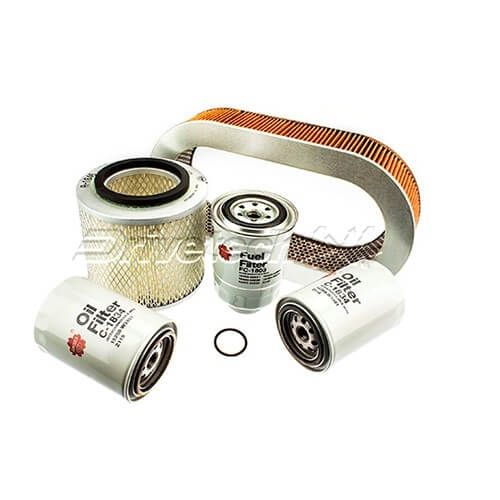 Filter Service Kit Suitable for Nissan Patrol GQ 4.2L Diesel 89-97