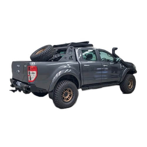 Rear Bumper and Tow Bar Suitable for Ranger PX / BT50 2011 - on