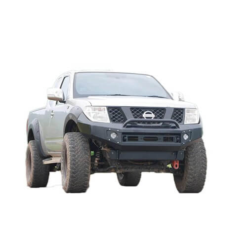 Extreme Series Bull Bar Suitable for Nissan Navara D40 - Thai Built