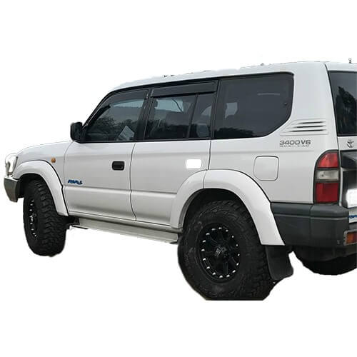 Factory Style Flares Suitable for Toyota Land Cruiser Prado 95 Series 1996-2003