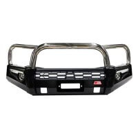 Phoenix Stainless Triple Loop Front Bar Suitable for Ford Ranger PX1 XL XLS XLT Wild Track 09/2011-07/2015