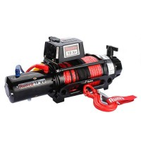 13XP Premium Winch 12V with Synthetic Rope