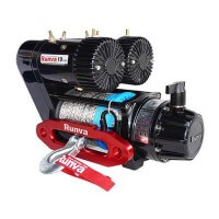 EWS10000 Premium Winch 12V with Synthetic Rope
