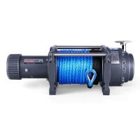 EWN17500 Winch 12V with Synthetic Rope