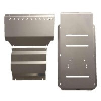 Front, Diff/Sump and Transmission Bash Plates Suitable for Mitsubishi Challenger PB/ PC