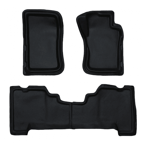 Sandgrabba Floor Mats Suitable for Nissan Navara D40 2006 - 2015