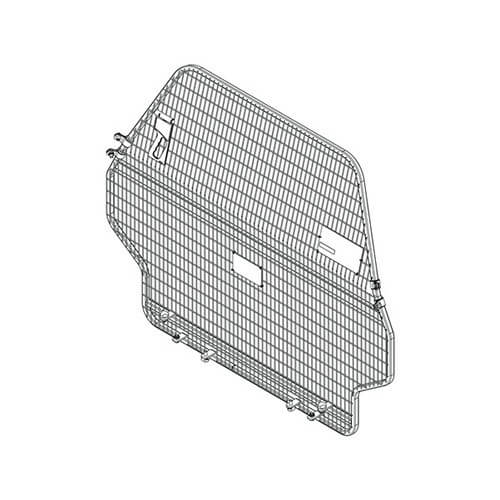 Cargo Barrier Suitable for Toyota Landcruiser 200 Series GX, GXL, VX, Sahara