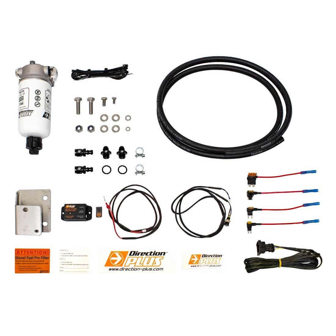 PRELINE-PLUS PRE-FILTER KIT PL626DPK SUITABLE FOR  NISSAN PATROL GU 06-18