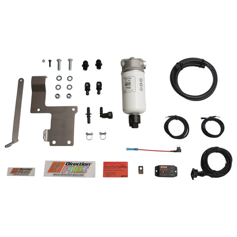PRELINE-PLUS PRE-FILTER KIT PL630DPK SUITABLE FOR NISSAN NAVARA NP300 2015 ON