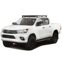 TRACK & FEET SLIMLINE II ROOF RACK KIT SUITABLE FOR TOYOTA HILUX REVO DC 2016 TO CURRENT