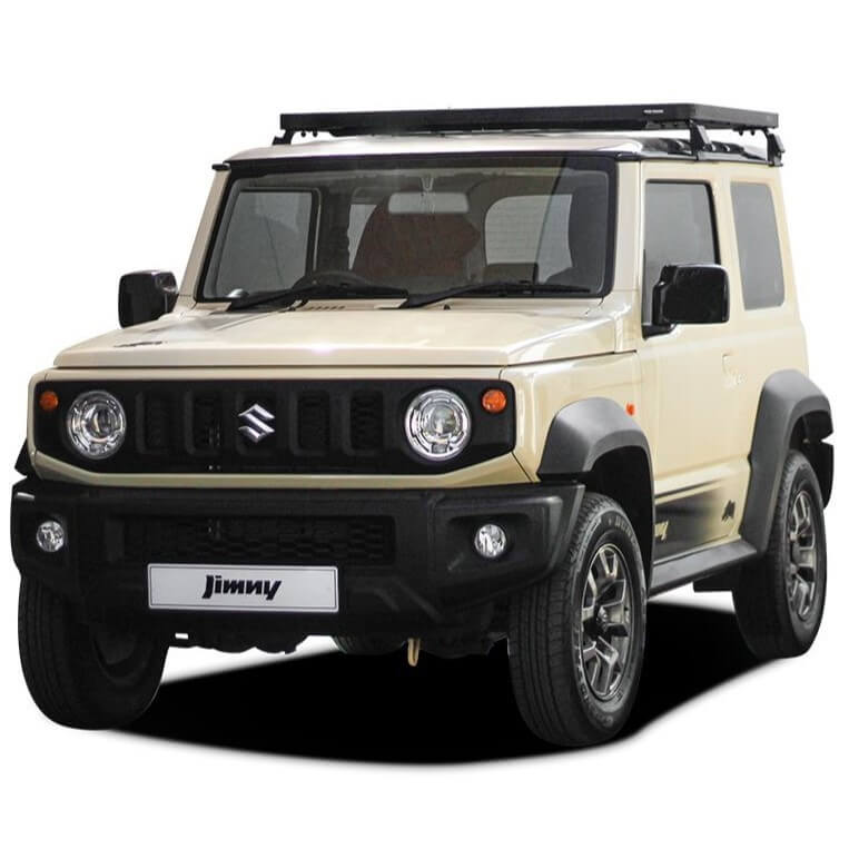 SLIMLINE II 3/4 ROOF RACK KIT SUITABLE FOR SUZUKI JIMNY 2018 TO CURRENT