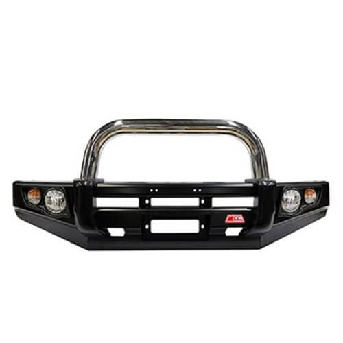 Falcon Stainless Triple Loop Plus Single Loop Front Bar Suitable For Nissan Patrol Y62 02/2013-On