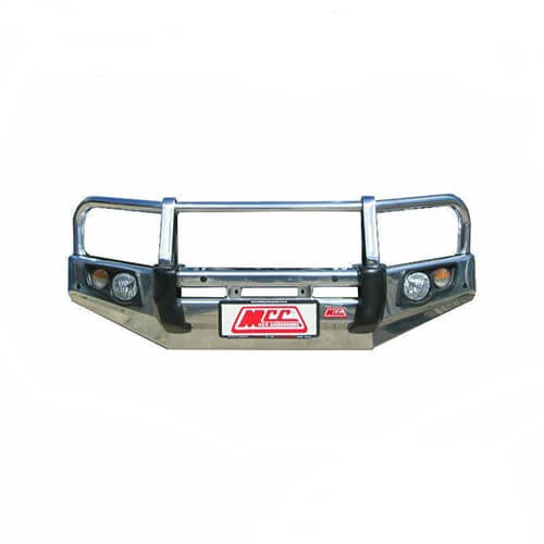 Alloy Falcon A-Frame Front Bar Suitable For Nissan Navara D40 RX, ST-R Groove Bumper