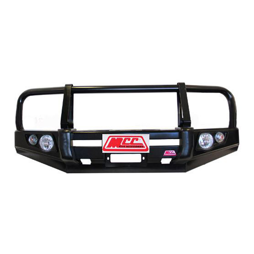 Falcon A-Frame Front Bar Suitable For Nissan Navara D40 RX, ST, ST-X, 550 09/2010-02/2015 Smooth Bumper