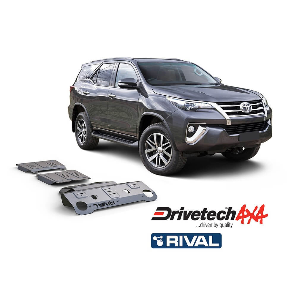 Underbody Armour Radiator Plate Suitable For Toyota Fortuner GUN156R 2015-On