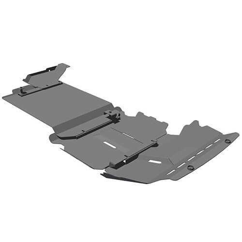 4 Piece Underguard Suitable for Ford Everest 2015+