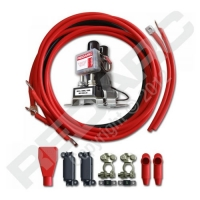 Battery Isolator & Wiring Kit 12V